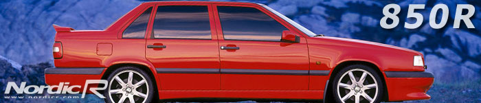 Volvo 850R och 855R - uppföljarna till den exklusiva T-5R. Kallas även T-röd på grund av sin färg.