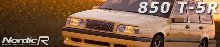Volvo 850 T-5R och Volvo 850 T-5R - den första av Volvos R-modeller och i dag en ikon i Volvos historia. Kallas även T-gul på grund av sin färg.