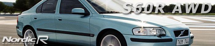 2003 kom det en R-modell även av S60. S60R AWD kom med fyrhjulsdrift, avancerat chassi och 300 hk. Här i lanseringsfärgen Flashgrön (Flash Green Metallic).