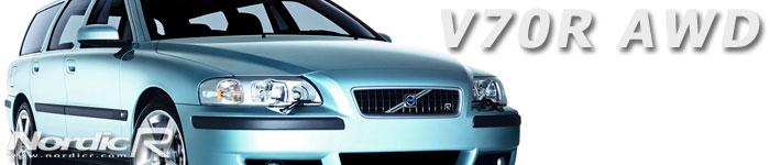 V70R AWD baserad på nya generationens V70. Här i lanseringsfärgen Flashgrön (Flash Green Metallic).