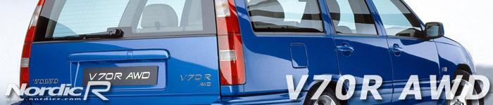 V70R AWD i den läckra Laserblå färgen. Nu med starkare motor och endast med automatlåda och AWD. Den sista modellen innan uppehållet fram till 2003 då nya V70R och S60R presenterades.