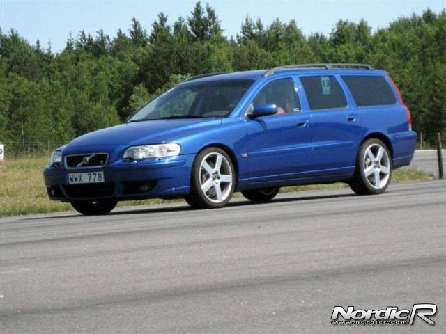 Volvo V70R AWD. Foto: NordicR
