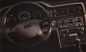 Volvo 850 T-5R Dashboard - Instrumentbräda och ratt