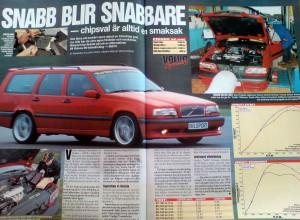Reportage i Bilsport nr 1-2 2001