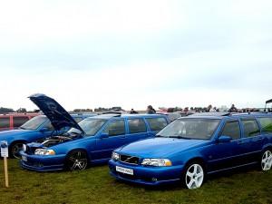 Ni som besökte Vallåkraträffen i år kunde beskåda Chanetts bil i klubbens monter.