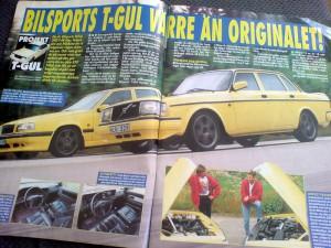 T-gul Volvo 240 mot 850 T-5R