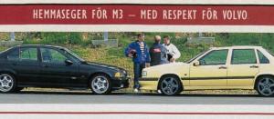 Volvo 850 T-5R i test i Auto Motor & sport