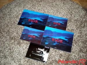 Volvo 850R broschyrer
