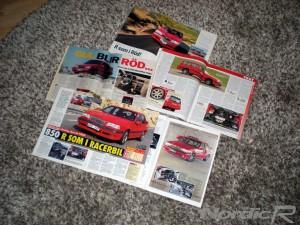 Volvo 850R tidningsartiklar