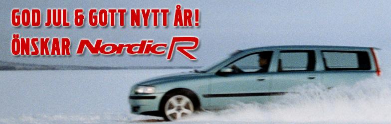 God jul och gott nytt år önskar NordicR!