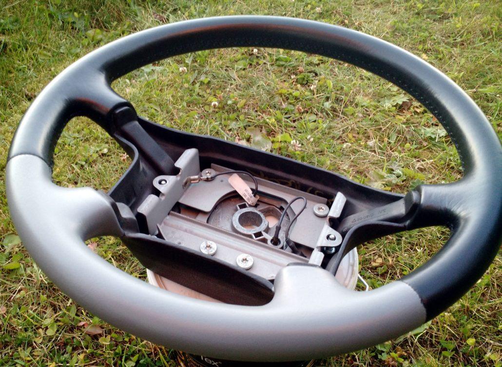Renoverad ratt till Volvo 850R