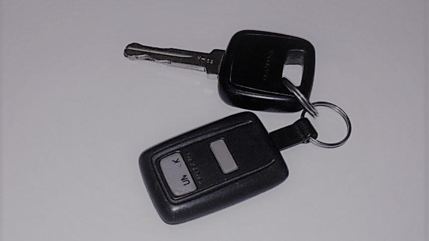 Volvo VGA2 remote med nyckel