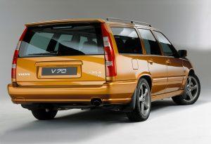 Pressbild Volvo V70R. Foto: Volvo.