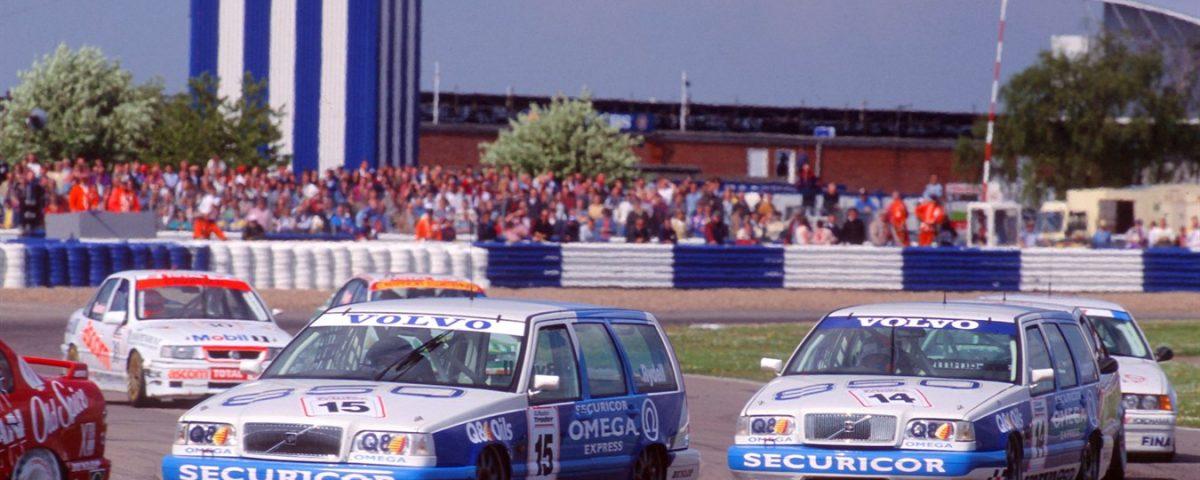 25 år sedan Volvo debuterade i BTCC