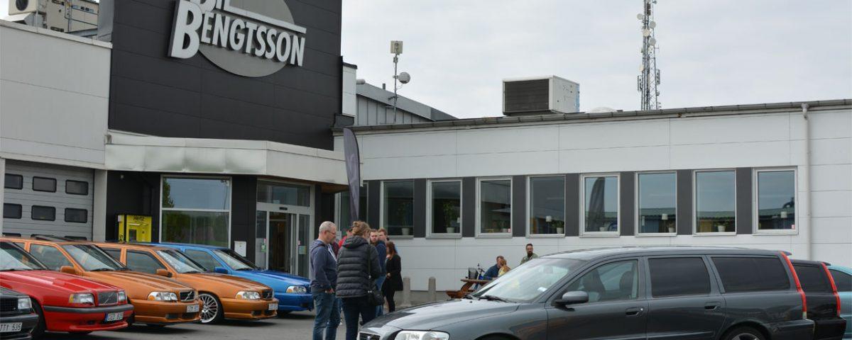 Österlenrundan 2019 - samling hos Bil Bengtsson