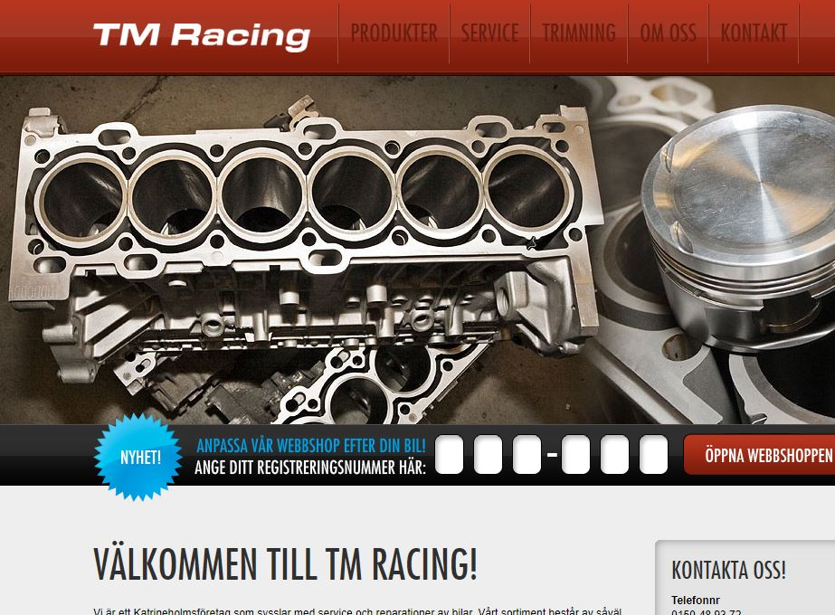 TM Racing ny partner